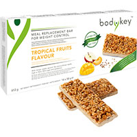 bodykey Mahlzeitersatz-Riegel Tropische Früchte