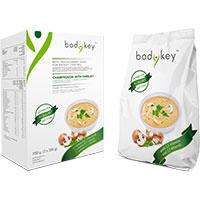 bodykey Mahlzeitersatz-Suppe Champignon mit Petersilie