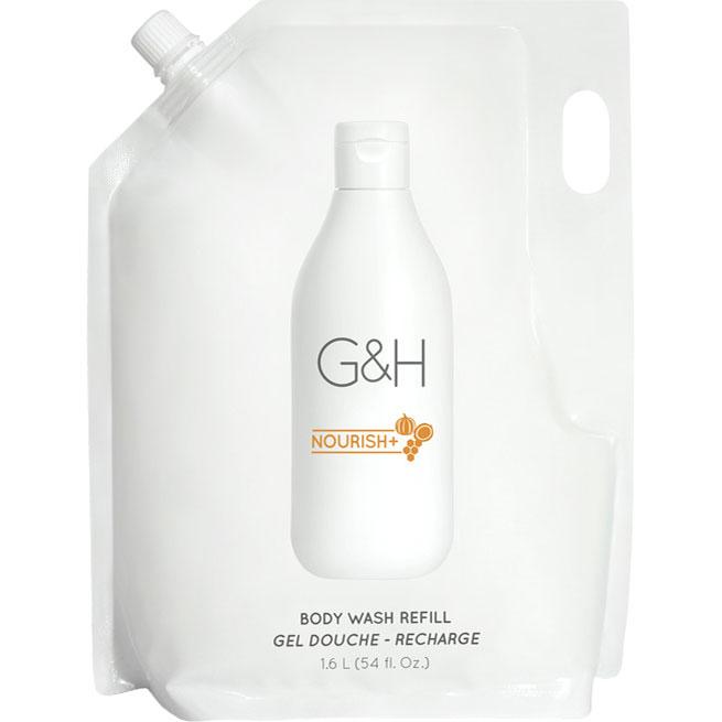 G&H NOURISH+ Sanftes Duschgel Nachfüllbeutel