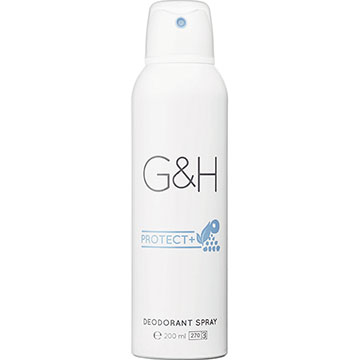 G&H PROTECT+ Deodorant Spray