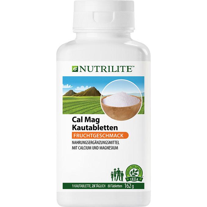 NUTRILITE Cal Mag Kautabletten
