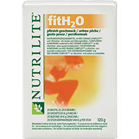 NUTRILITE fitH2O Getränkepulver Pfirsich