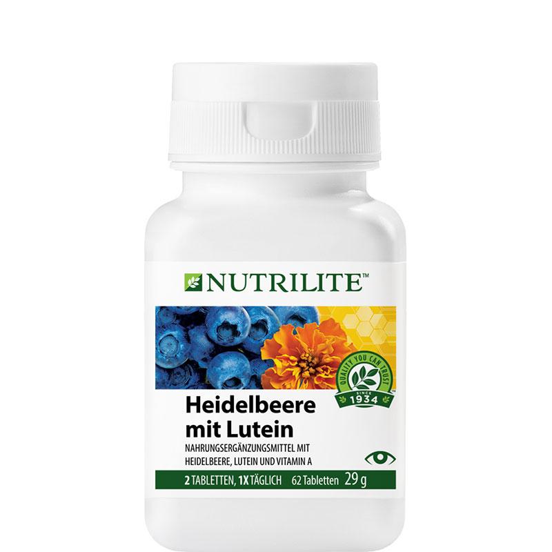 NUTRILITE Heidelbeere mit Lutein