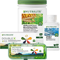 NUTRILITE Trio-Set mit Double-X