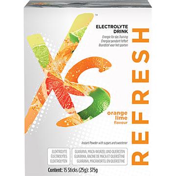 XS Elektrolyt Drink Orange-Limette