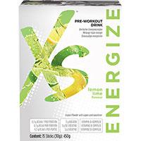 XS Pre-Workout Drink Zitrone-Limette